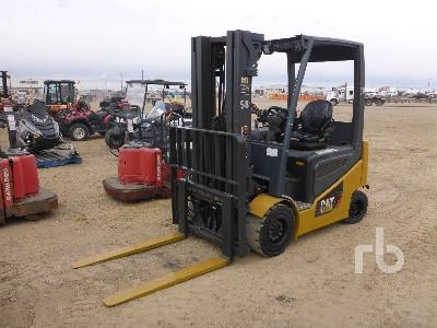 2014 CATERPILLAR 2EPC6000 6000 Lb Electric Forklift