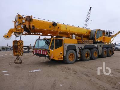 2004 DEMAG AC160-2 200 Ton 10x8x8 All Terrain Crane
