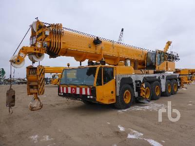 2005 DEMAG AC160-2 200 Ton 10x8x8 All Terrain Crane