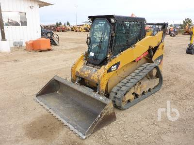 2011 CATERPILLAR 259B3 2 Spd High Flow Compact Track Loader
