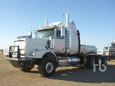 2012 WESTERN STAR 4900SA Tri Drive Sleeper Winch Tractor