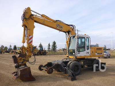 LIEBHERR A904 Railroad 4x4 Mobile Excavator