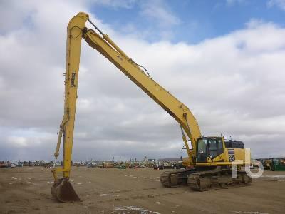 2013 KOMATSU PC490LC-10 Long Reach Hydraulic Excavator