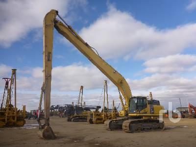 2014 KOMATSU PC490LC-10 Long Reach Hydraulic Excavator
