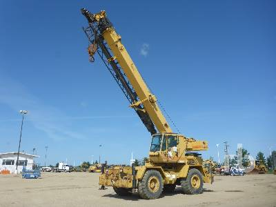 1989 GROVE RT528C 28 Ton 4x4x4 Rough Terrain Crane