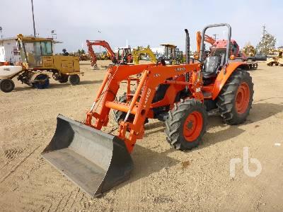 KUBOTA M6040 MFWD Tractor