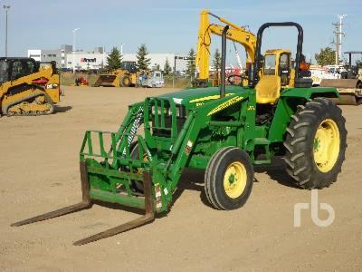 2008 JOHN DEERE 5203 Utility Tractor