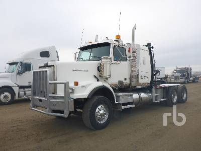 2010 WESTERN STAR 4900SA T/A Sleeper Winch Tractor