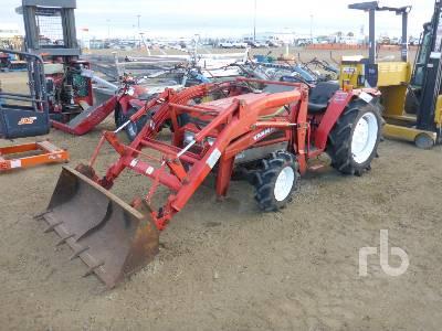 YANMAR FX235 4WD Utility Tractor
