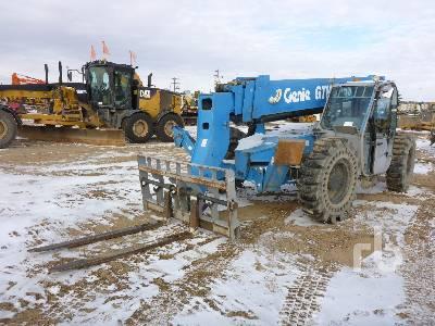 2012 GENIE GTH1056 4x4x4 Telescopic Forklift