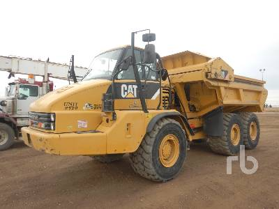 2012 CATERPILLAR 730 Ejector 6x6 Articulated Dump Truck