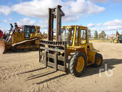 SELLICK SD80 4x4 Rough Terrain Forklift