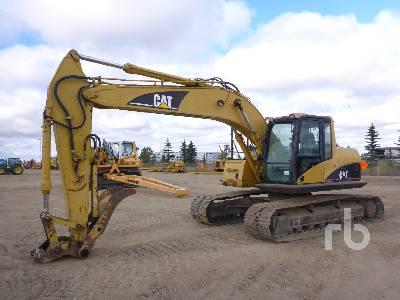 2003 CATERPILLAR 320C LRR Hydraulic Excavator