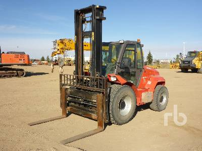 2014 MANITOU M50 4x4 Rough Terrain Forklift