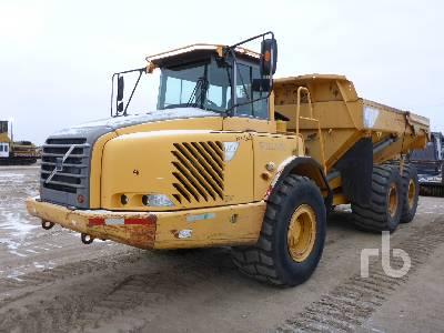 2005 VOLVO A30D 6x6 Articulated Dump Truck