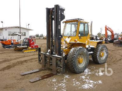 1996 LOADLIFTER 4412-14C 4x4x4 Rough Terrain Forklift