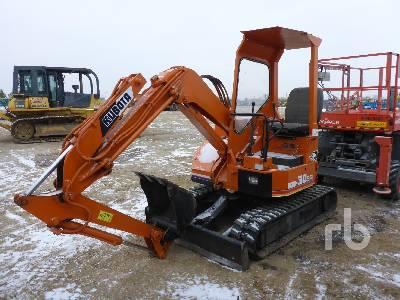 KUBOTA KH30SR Mini Excavator (1 - 4.9 Tons)