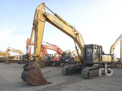 2008 KOMATSU PC400LC-8 VG Hydraulic Excavator