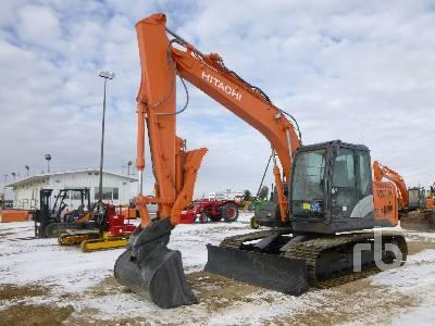 2014 HITACHI ZX130LCN-5B Hydraulic Excavator