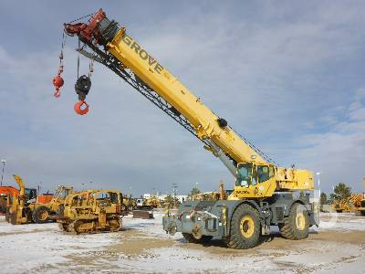 2005 GROVE RT700E 60 Ton 4x4x4 Rough Terrain Crane