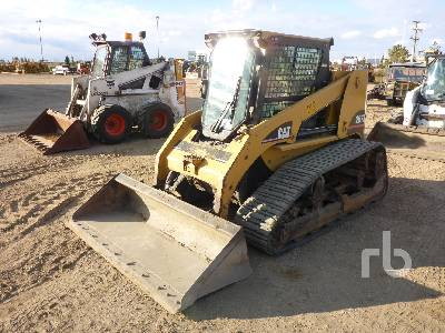 2005 CATERPILLAR 267B Multi Terrain Loader
