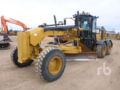 2013 CATERPILLAR 160M VHP Plus Motor Grader