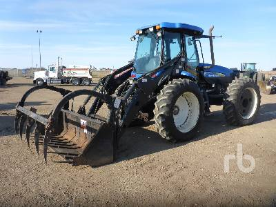 2009 NEW HOLLAND TV6070 Bi-Directional Tractor