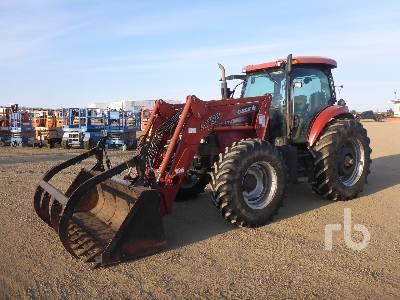 2005 CASE IH MXU135 MFWD Tractor
