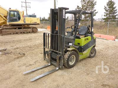 2005 CLARK C25L Forklift