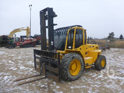 2008 SELLICK S80 Rough Terrain Forklift