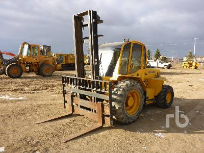 2006 SELLICK S80 Rough Terrain Forklift