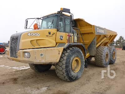 2011 JOHN DEERE 400D Series II 6x6 Articulated Dump Truck