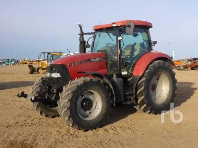 2009 CASE IH MAXXUM 140 MFWD Tractor