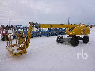 2009 HAULOTTE HB44J 4x4 Articulated Boom Lift