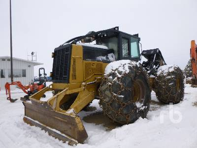 2010 CATERPILLAR 545C 4x4 Grapple Skidder