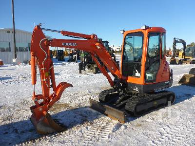 2018 KUBOTA KX71-3S Mini Excavator (1 - 4.9 Tons)