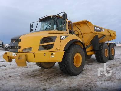 2011 VOLVO A40F 6x6 Articulated Dump Truck