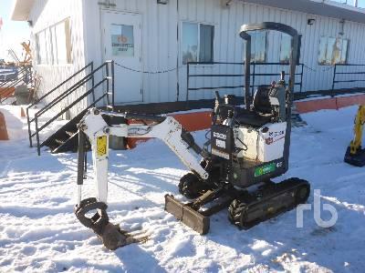 2014 BOBCAT 418 Mini Excavator (1 - 4.9 Tons)