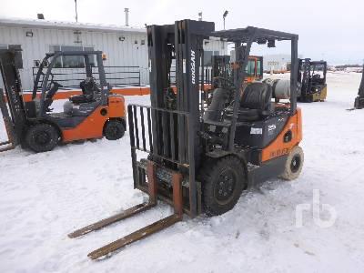 2014 DOOSAN G25P-5 Forklift