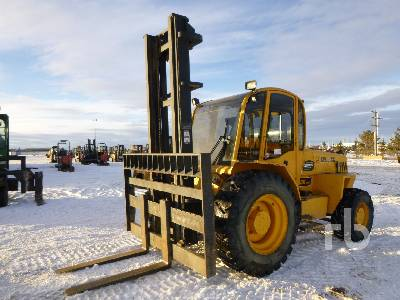 2012 SELLICK S100J3-4 4x4 Rough Terrain Forklift