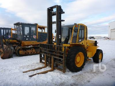 2013 SELLICK S80J4I-4 4x4 Rough Terrain Forklift