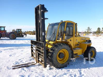 2015 SELLICK S80 4x4 Rough Terrain Forklift
