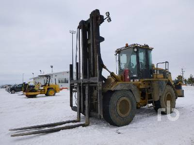 2005 CATERPILLAR 938G Series II Rough Terrain Forklift