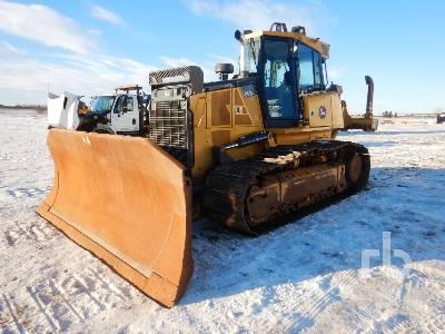 2014 JOHN DEERE 850K WLT Crawler Tractor