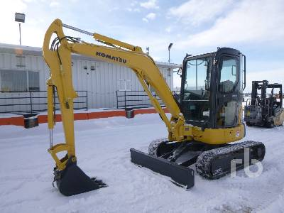 2008 KOMATSU PC35MR-3 Mini Excavator (1 - 4.9 Tons)