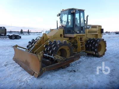 2008 CATERPILLAR 815F Series II Compactor