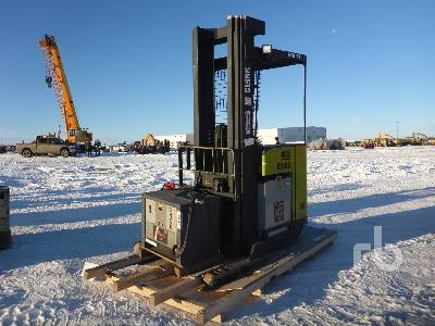 1996 CLARK NPR22 4500 Lb Narrow Aisle Electric Forklift