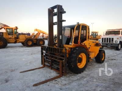 2015 SELLICK S80J4-4 Rough Terrain Forklift