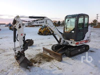 2005 BOBCAT 331 Mini Excavator (1 - 4.9 Tons)