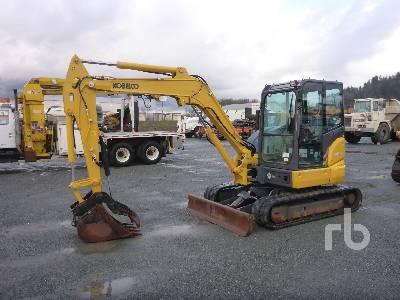 2017 KOBELCO SK55SRX-6E Midi Excavator (5 - 9.9 Tons)